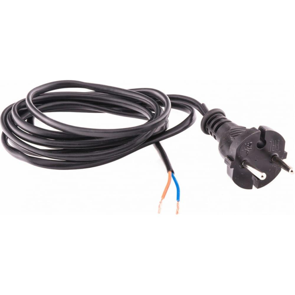 Купить Электрический соединительный шнур для настольной лампы сибртех 2, 2м, 120вт, чёрный, тип v-1 96016