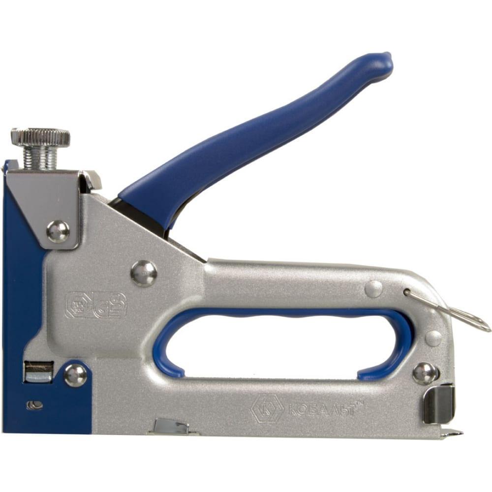 Механический степлер, скобы 4-14 мм, тип 53 кобальт 918-351