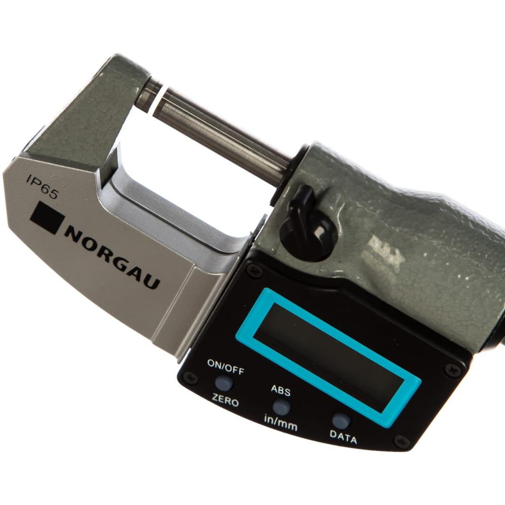 Цифровой микрометр norgau nmd-65d 041057001