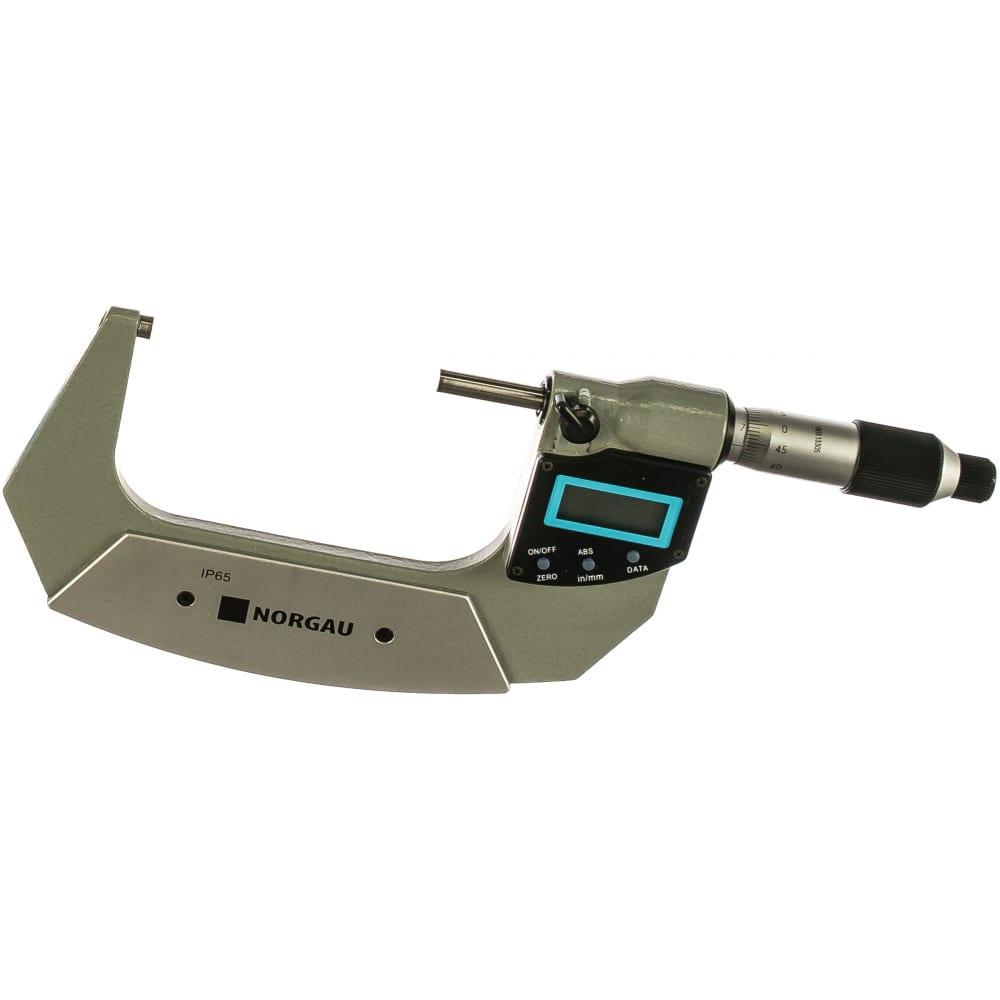 Цифровой микрометр nmd-65d norgau 041057004