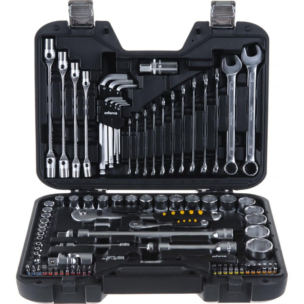Купить Набор инструментов inforce 85 предметов 1/2 , 1/4 inforce 06-07-14