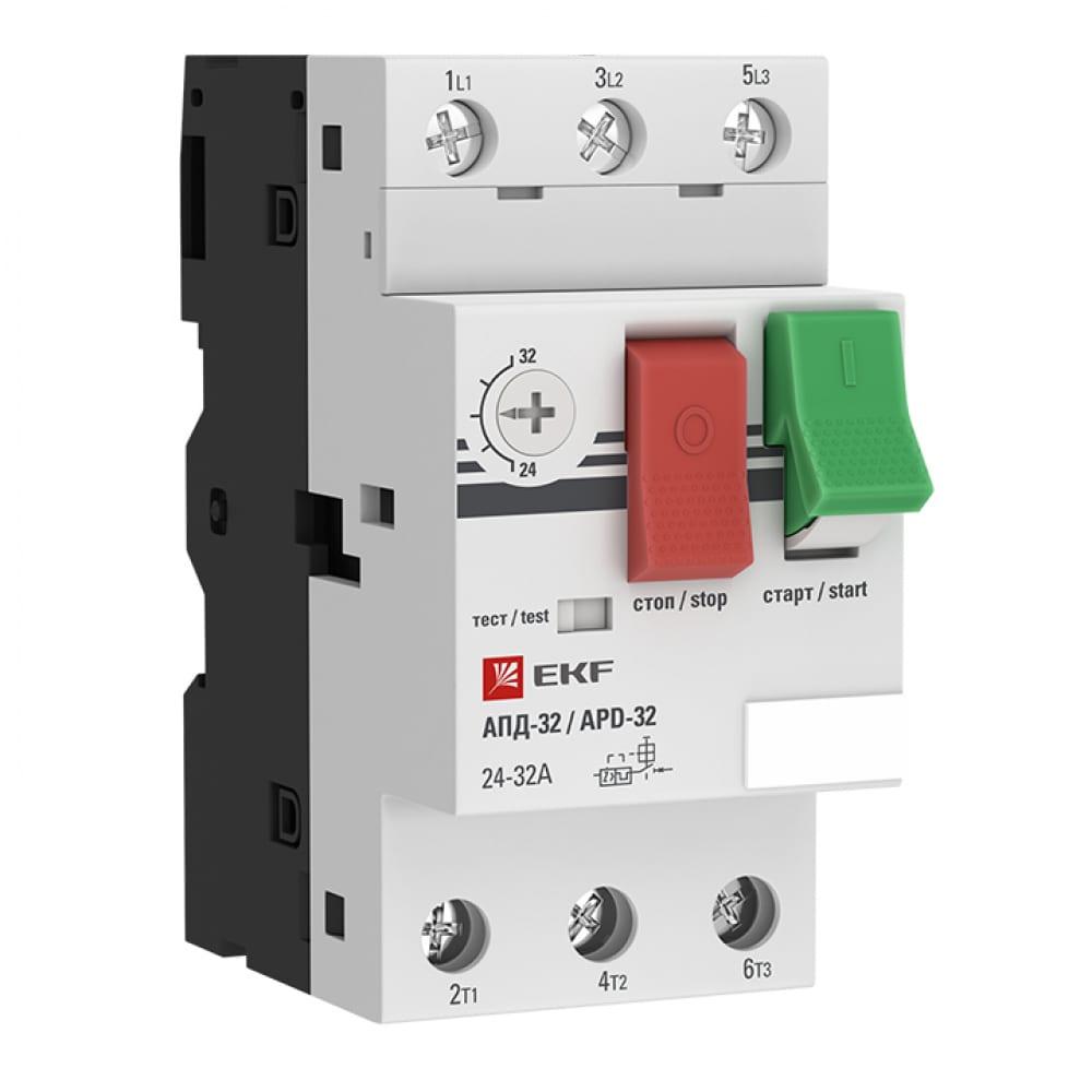 Купить Мотор-автомат ekf 1.0-1.6а апд32 управление кнопками, винтовые зажимы apd2-1.0-1.6