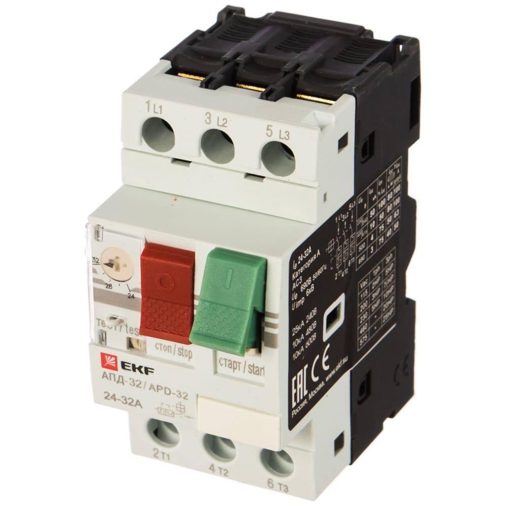 Купить Мотор-автомат ekf 24-32а апд32-32 управление кнопками, винтовые зажимы apd2-24-32