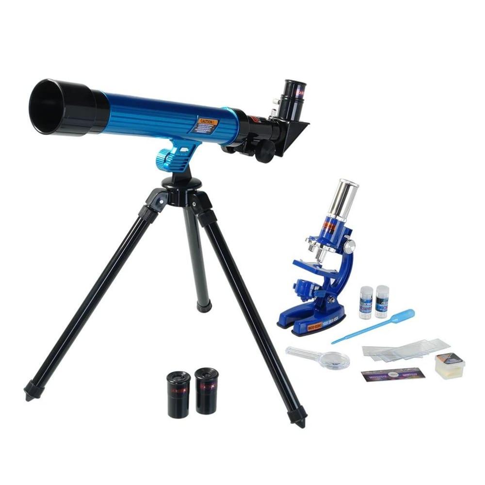 Микроскоп микромед mp- 450+телескоп 26167