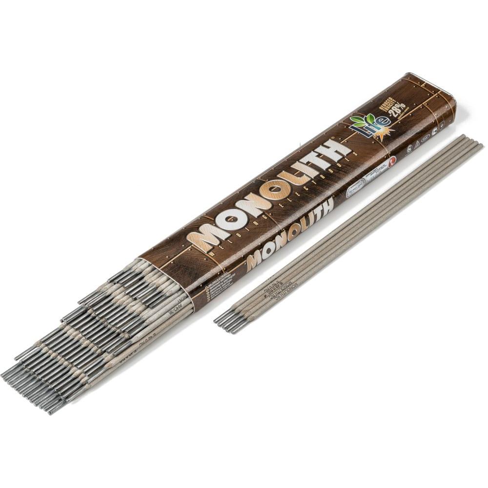 Электроды рц (1 кг; 3х350 мм; тубус) monolith 536