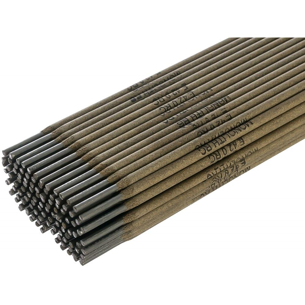 Электроды рц (2 кг; 2.5х350 мм) monolith 22340