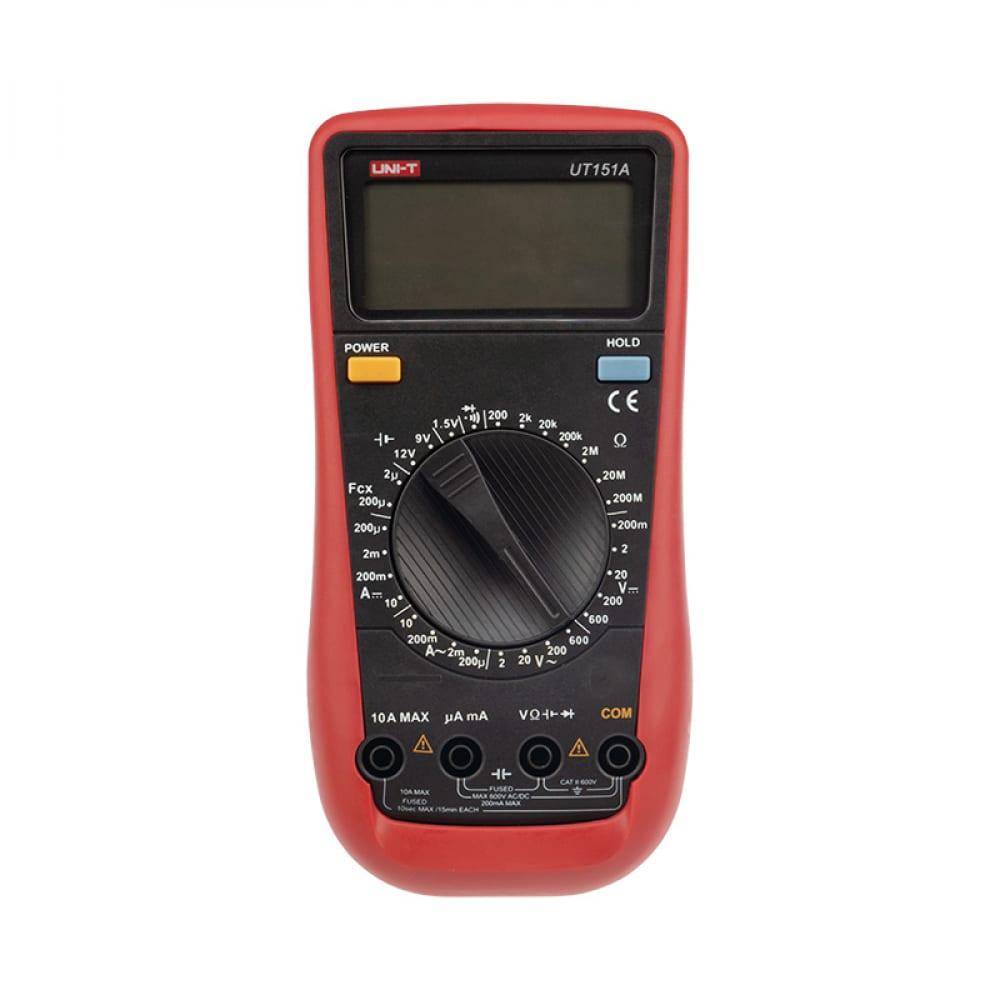 Универсальный мультиметр uni-t ut151a 13-1026  - купить со скидкой