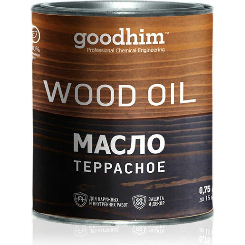 Купить Террасное масло goodhim эбеновое дерево 0, 75 л 74998