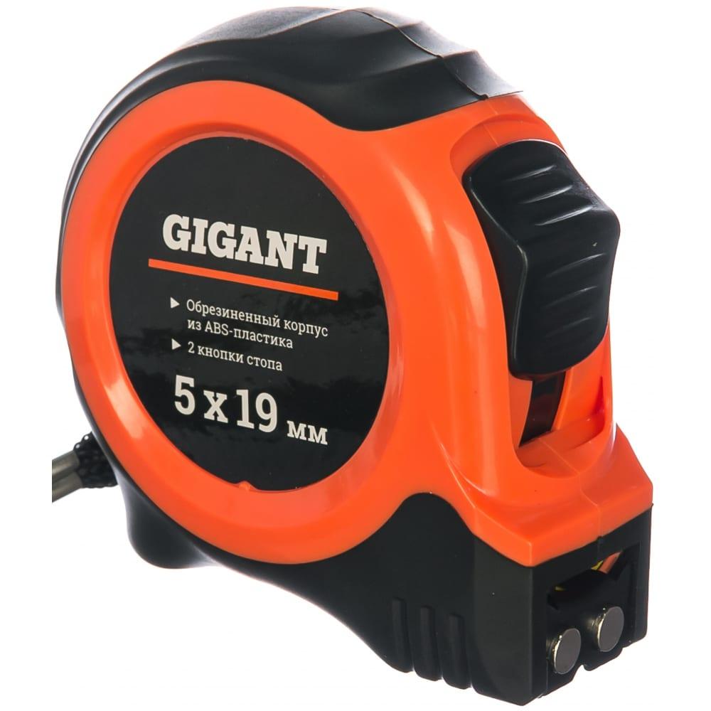 Купить Измерительная рулетка с магнитным крюком, 5x19мм gigant gw519
