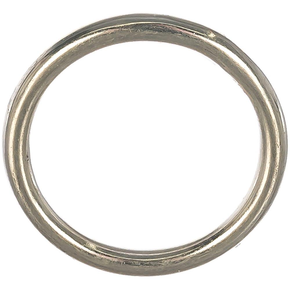 Купить Полированное кольцо госкреп d45 мм, h 6 мм, нержавеющая сталь 1 шт. 10-0026750