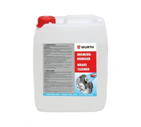 Очиститель тормозов Wurth 5Л 0890108715053 1 - цена, отзывы, характеристики, фото - купить в Москве и РФ