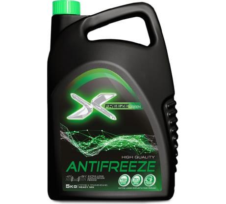 Антифриз X-Freeze зеленый, 5 кг 430206070 в Перми - купить, цены, отзывы, характеристики, фото, инструкция