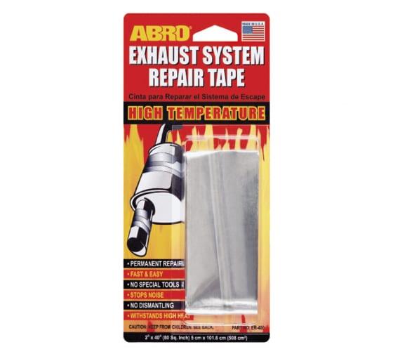 Лента для ремонта глушителя ABRO 5смх101,6см ER-400 1