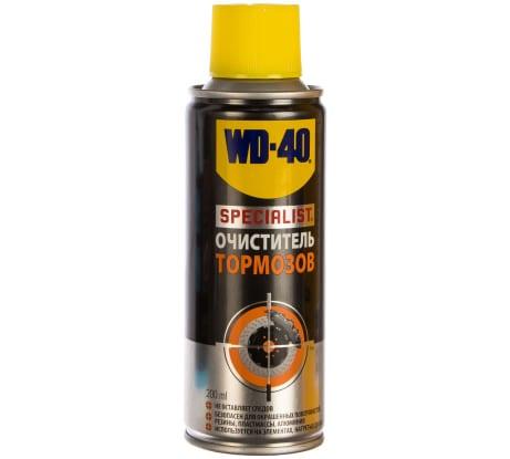 Очиститель тормозов 200 мл WD-40 SPECIALIST SP70257 - цена, отзывы, характеристики, фото - купить в Москве и РФ