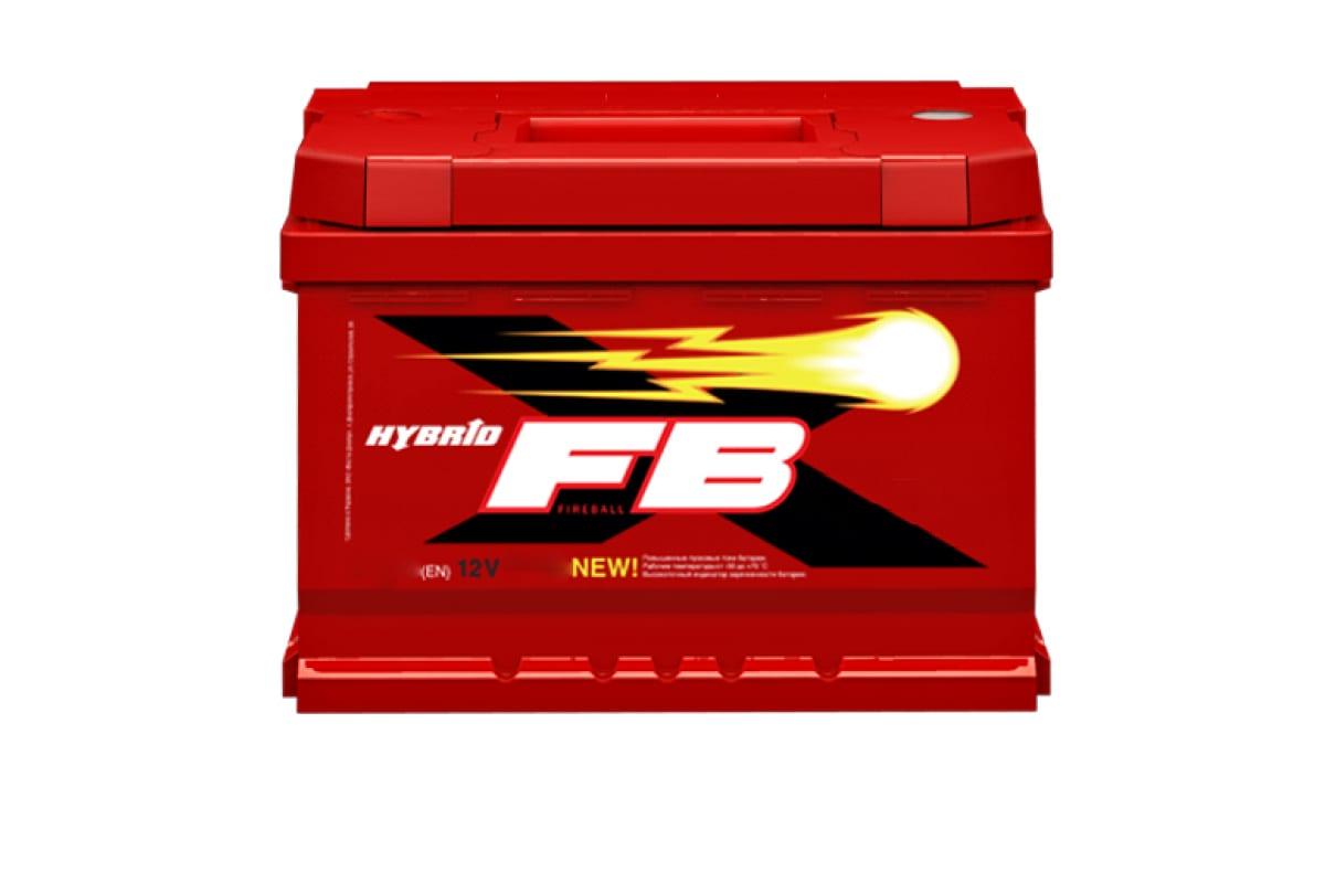 Аккумуляторная батарея FB 6 СТ 60 А/ч 1 L