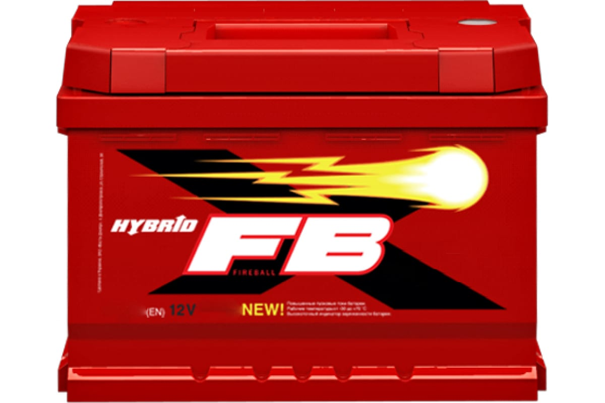 Аккумуляторная батарея FB 6 СТ 75 А/ч 1 L