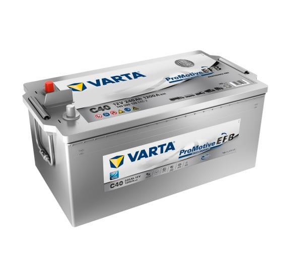 Аккумуляторная батарея VARTA 6СТ240 Promotive EFB 518х276х242 740 500 120 E652 C40 в Кирове - цены, отзывы, доставка, гарантия, скидки