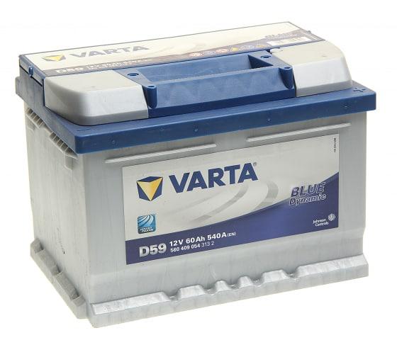 Аккумуляторная батарея VARTA 6СТ60з BD 242х175х175 560 409 054 313 2 D59 в Перми - купить, цены, отзывы, характеристики, фото, инструкция