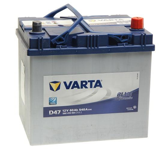 Купить аккумуляторную батарею varta 6ст60з bd 232х175х225 560 410 054 313 2 d47 в Калуге - низкие цены, отзывы, быстрая доставка, гарантия