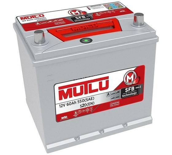 Аккумуляторная батарея Mutlu SFB M2 6СТ-60.0 55D23FL бортик D23.60.052.С в Казани - купить, цены, отзывы, характеристики, фото, инструкция