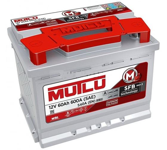 Аккумуляторная батарея Mutlu SFB M3 6СТ-60.0 L2.60.054.A в Краснодаре - купить, цены, отзывы, характеристики, фото, инструкция