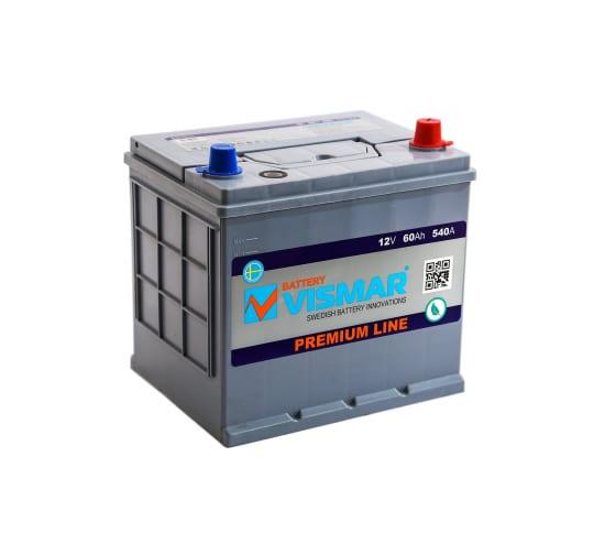 АКБ VISMAR PR ASIA 6СТ-60 L R-0 540А 230/172/225 8699358010636 в Сочи - цены, отзывы, доставка, гарантия, скидки