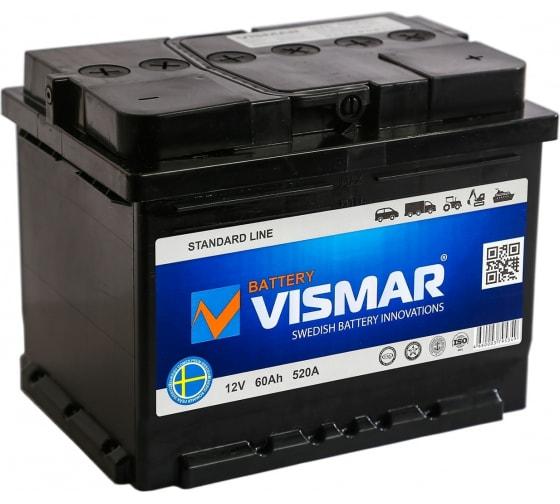 Купить акб vismar st 6ст-60 n r-0 520а 242/175/190 4660003795349 в Ярославле - цены, отзывы, характеристики, доставка, гарантия, инструкция