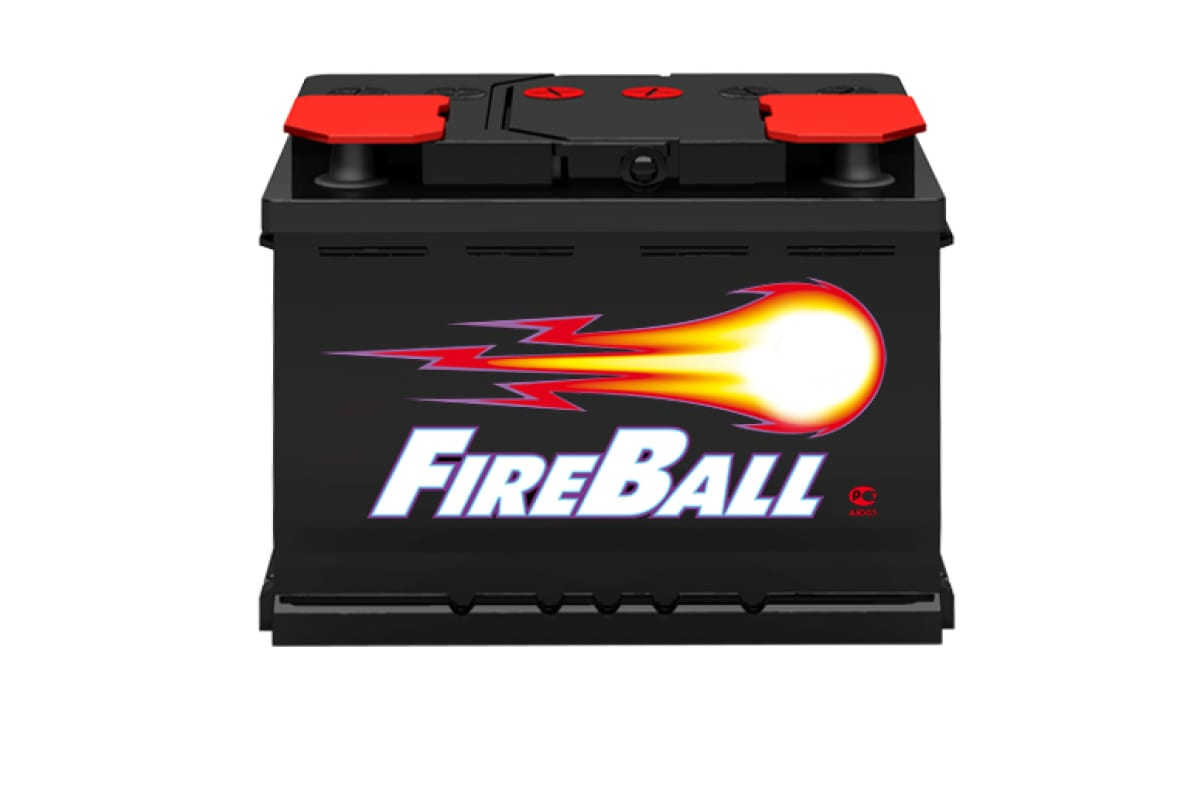 Аккумуляторная батарея FIRE BALL 6ст- 55 0 R Аз