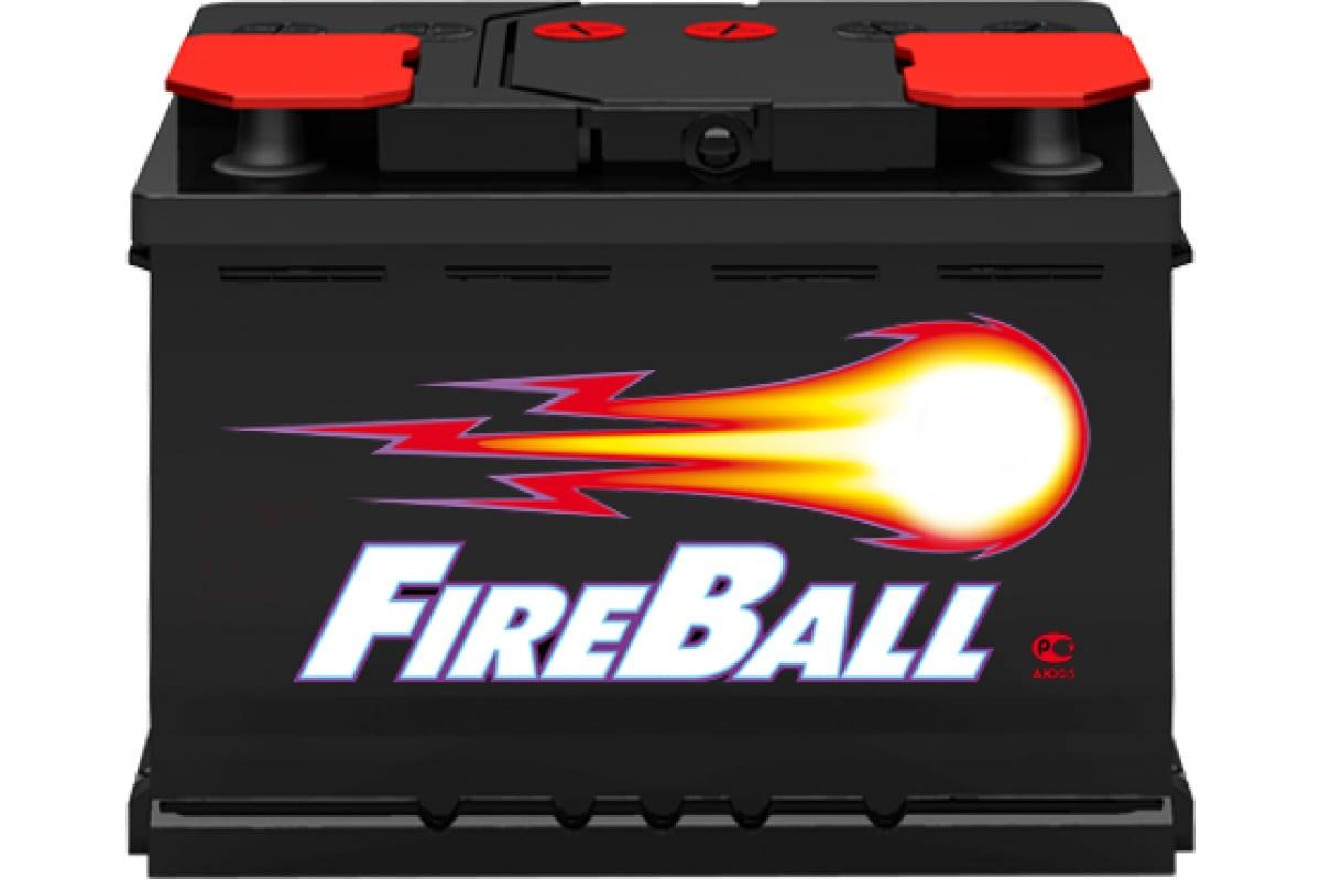 Аккумуляторная батарея FIRE BALL 6ст- 60 1 Аз