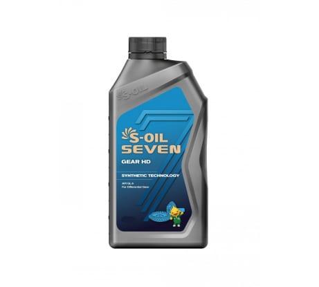 Трансмиссионное масло GEAR HD 85W-140 4 л S-OIL SEVEN E107797 - цена, отзывы, характеристики, фото - купить в Москве и РФ