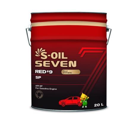 Моторное масло RED#9 SP 0W-16 20 л S-OIL SEVEN E108277 - цена, отзывы, характеристики, фото - купить в Москве и РФ