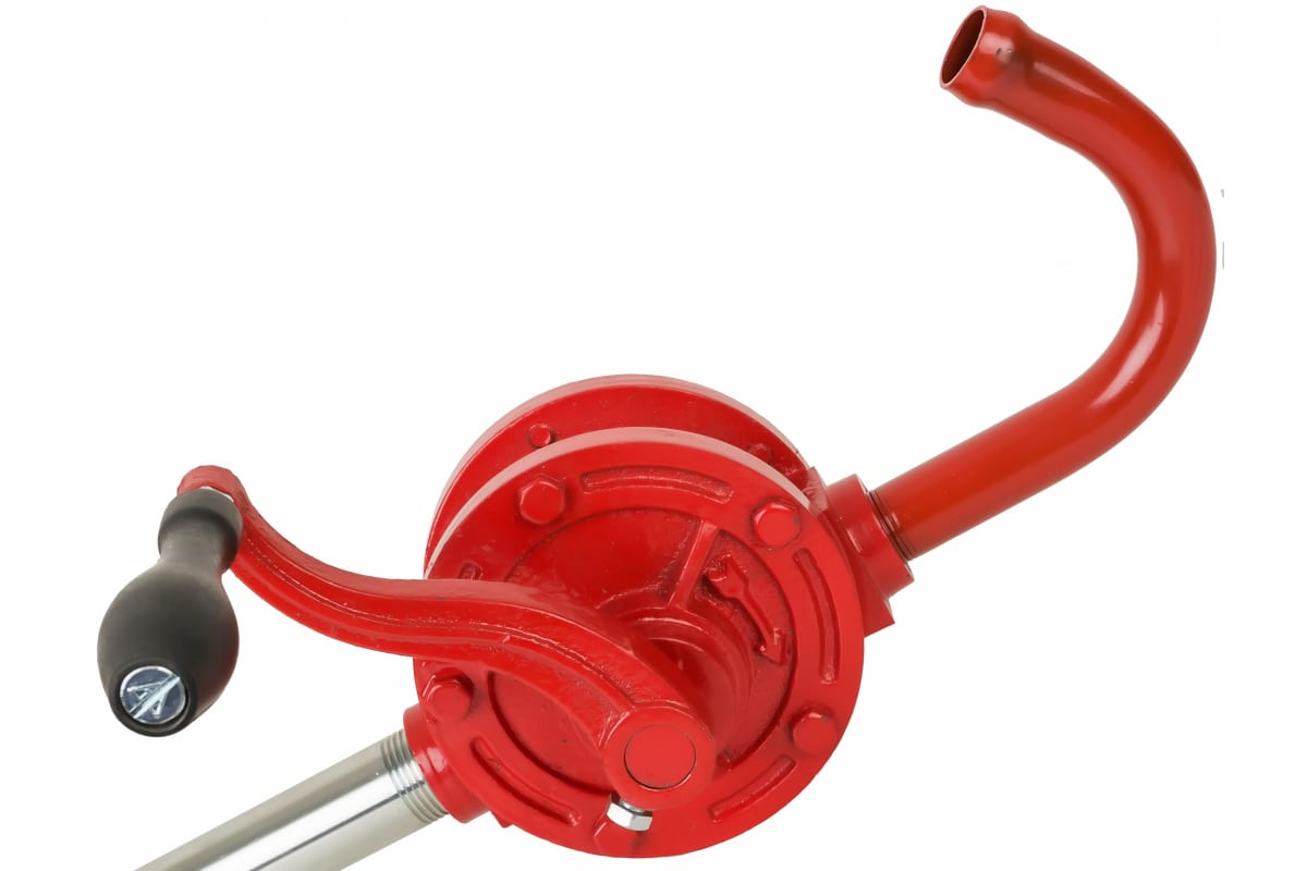 Ручной роторный бочковый насос для масел 250мл/об GROZ GR44052 - GNB-25/3R/SPL