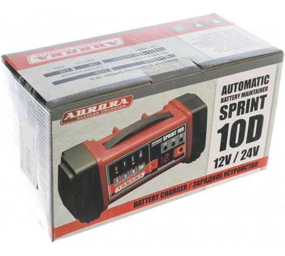 Зарядное устройство Aurora SPRINT10 D automatic 12/24В 14707 4