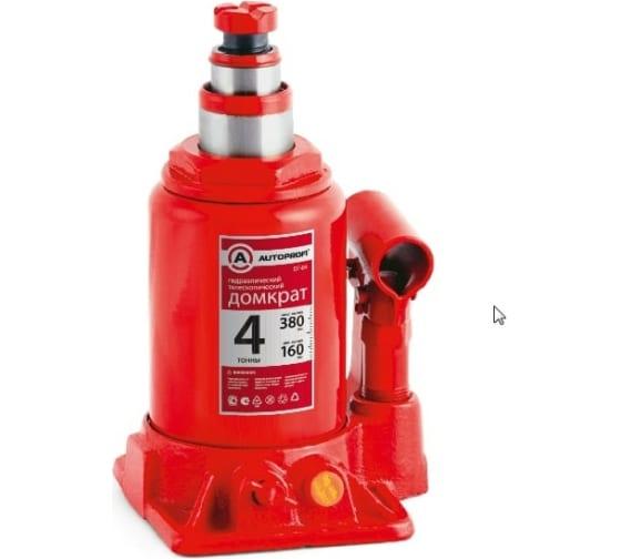Бутылочный домкрат AUTOPROFI DT-04 1