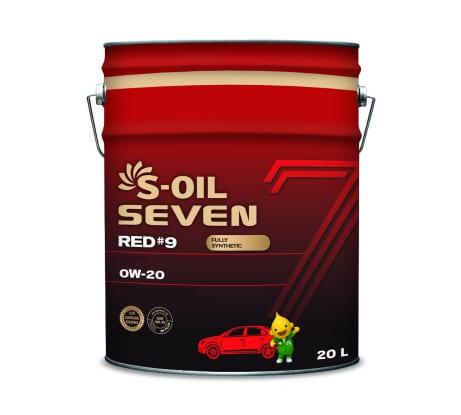 Моторное масло RED#9 SN 0W-20 20 л SEVEN E107642 - цена, отзывы, характеристики, фото - купить в Москве и РФ