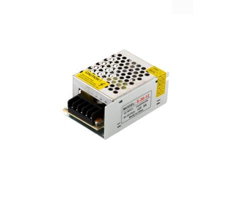 Фото блока питания URM S-36W-3A-IP22-12V В10016