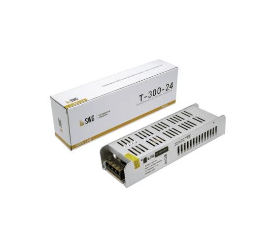 Компактный узкий блок питания SWG, 300W, 24V, T-300-24 00-00002901 1