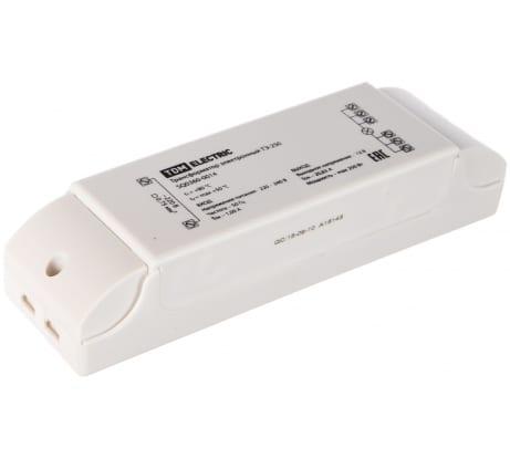 Электронный трансформатор | дроссель TDM ТЭ-250 SQ0360-0014 - цена, отзывы, характеристики, фото - купить в Москве и РФ