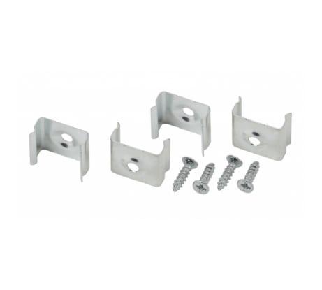 Набор крепежей для профиля CAB251 ЭРА 2206-4 4 шт. Б0039445 - цена, отзывы, характеристики, фото - купить в Москве и РФ