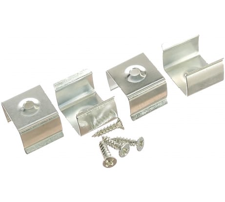 Набор крепежей для профиля ЭРА 1612-4 CAB261, CAB262 4 шт. Б0039434 - цена, отзывы, характеристики, фото - купить в Москве и РФ