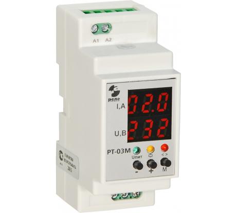 Фото реле контроля тока Реле и Автоматика РТ-03М 0-60А 50Гц A8223-80108738