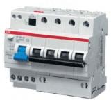 Автоматический выключатель дифференциального тока ABB 4п C 30mA AC 6kA DS204 25A 2CSR254001R1254