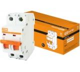 Автоматический выключатель TDM ВА47-29 2Р 16А 4.5кА D SQ0206-0157