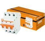 Автоматический выключатель TDM ВА47-63 3Р 50А SQ0218-0024