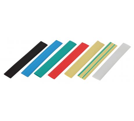 Термоусаживаемая трубка ЭРА ТУТнг 12/6 набор 7 цветов по 3 шт. 100мм Б0038921 - цена, отзывы, характеристики, фото - купить в Москве и РФ