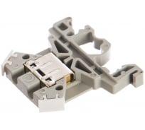 Клеммная колодка ЗНИ-4, 4 мм2, серый IEK YZN10-004-K03