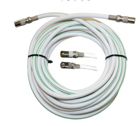 Антенный телевизионный удлинитель белый ТАУ 5 м/antenna.ru. Длина кабеля 5м, разъемы 9,5 TV, в п/э 14362 - цена, отзывы, характеристики, фото - купить в Москве и РФ