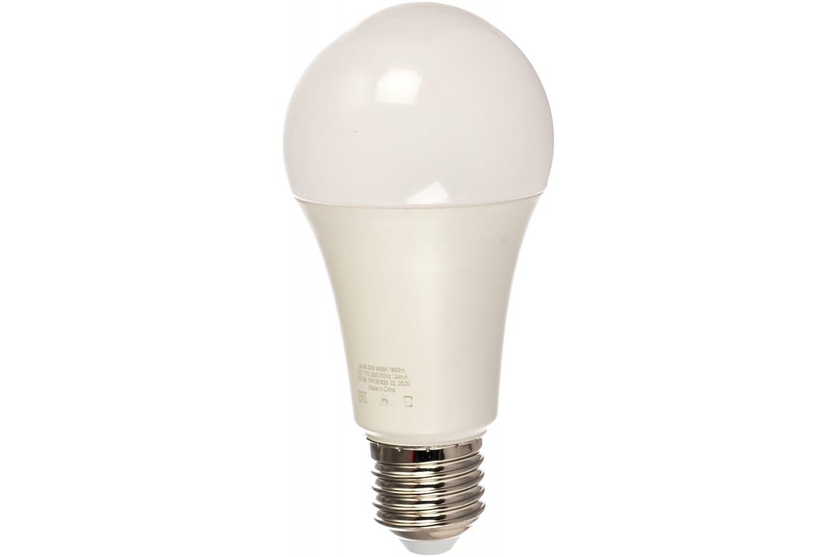 Светодиодная лампа FERON 20W 230V E27 4000K LB-98 25788