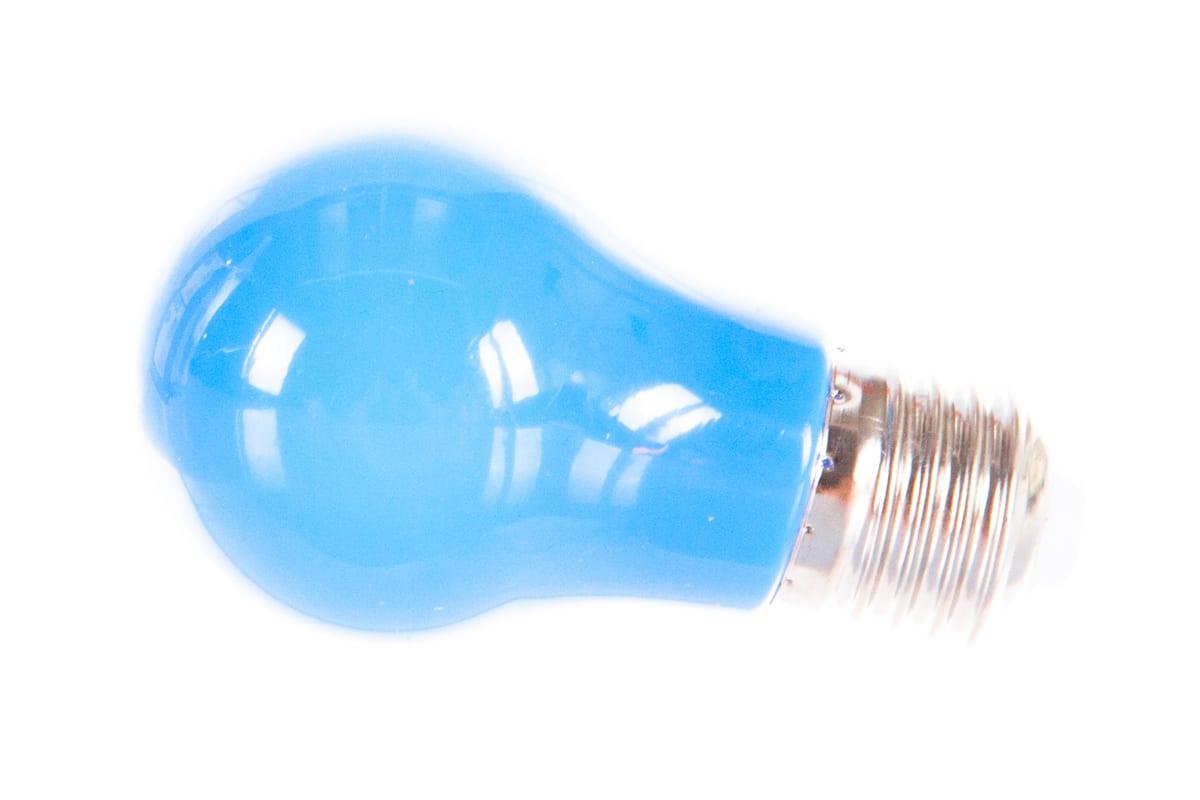 Светодиодная лампа FERON 3W 230V E27 синий LB-375 25923