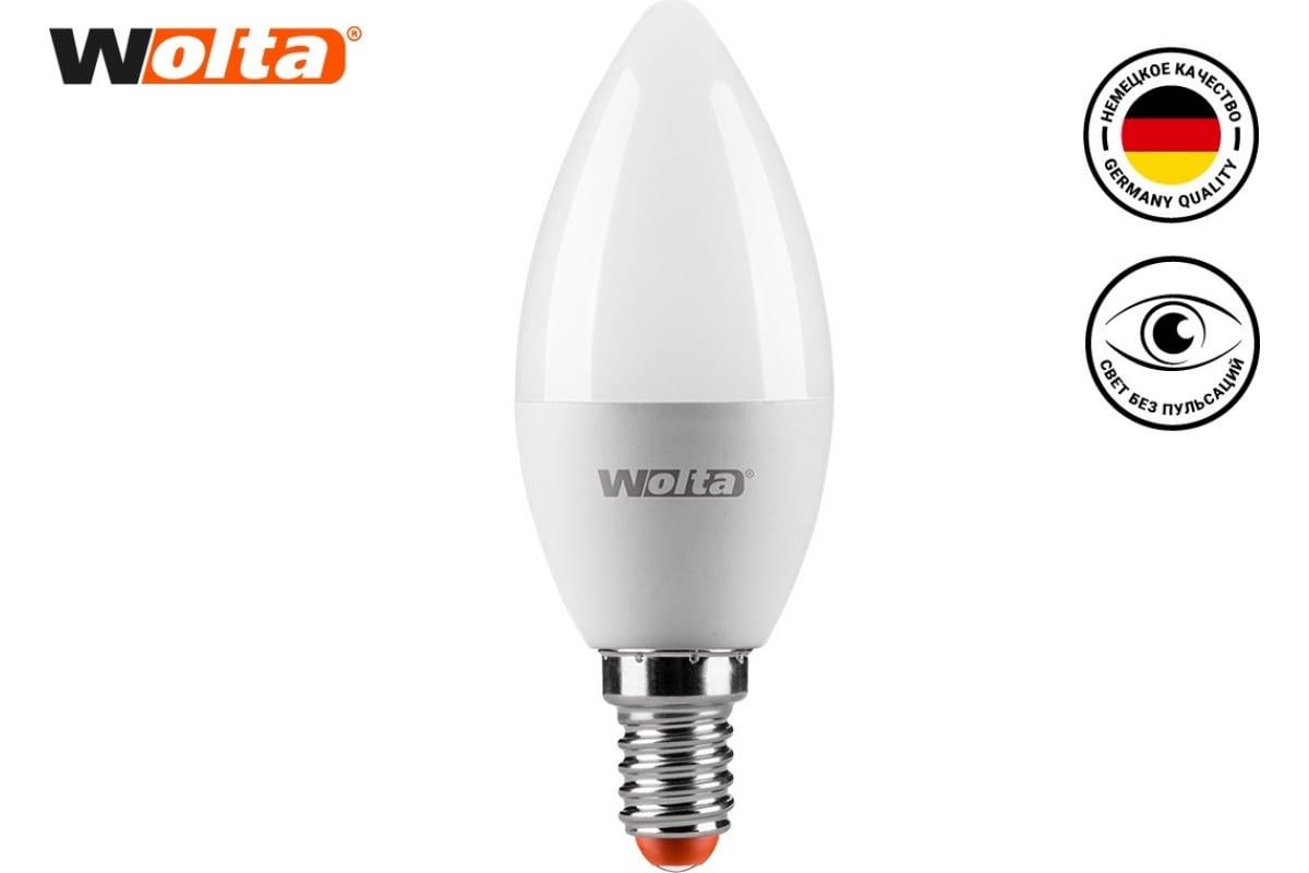 Лампа WOLTA LED 25YC10E14